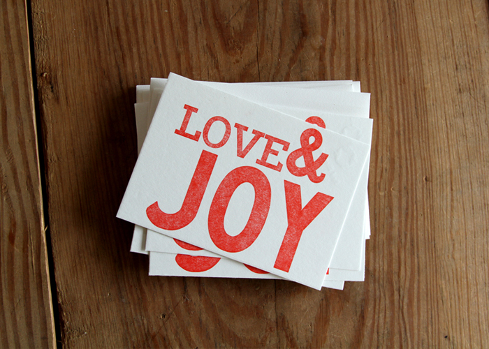 Love & Joy Cards