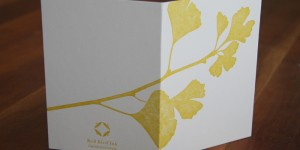 Little Fall Ginkgo Folded Cards